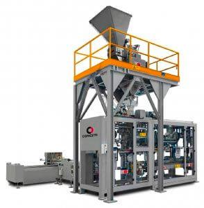 sistema de ensacado automático modelo IGF600 Bogatécnica